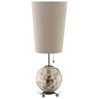 Wortley Forge 21 inch 60 watt Natural Table Lamp Portable Light