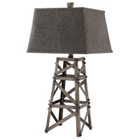 Black Iron Table Lamps