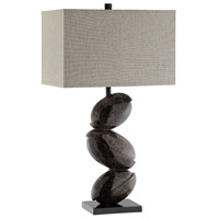 Stein World 99739 Tobin 34 inch Brown Table Lamp Portable Light