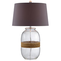 Stein World 99752 Bayshore 27 inch 150 watt Natural Rope Table Lamp Portable Light