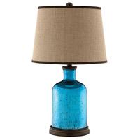 Stein World 99761 Havasu 26 inch 150 watt Blue Table Lamp Portable Light