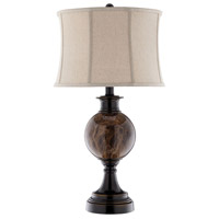 Brown Metal Table Lamps