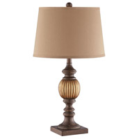 Jax 27 inch 100 watt Tan Table Lamp Portable Light