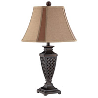 Colin 26 inch 100 watt Dark Bronze Table Lamp Portable Light