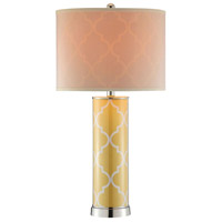 Silver Contemporary Table Lamps
