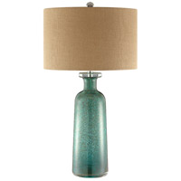 Stein World 99872 Bayshore 30 inch 150 watt Blue and Brown Table Lamp Portable Light alternative photo thumbnail