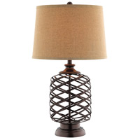Stein World 99884 Miriam 29 inch 150 watt Dark Brown Table Lamp Portable Light photo thumbnail