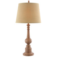 Nevan 30 inch 100 watt Latte Table Lamp Portable Light