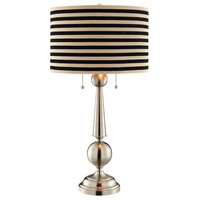 Stein World 99900 Swift 29 inch 60 watt Black and Light Tan Table Lamp Portable Light