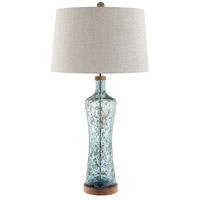 Stein World 99936 Allie 33 inch 150 watt Blue Table Lamp Portable Light