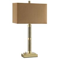Stein World 99947 Noah 31 inch 60 watt Brass Table Lamp Portable Light