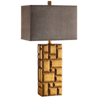 Stein World 99951 Signature 32 inch Brown Table Lamp Portable Light
