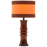 Stein World 99967 Viorst 28 inch 60 watt Dark Brown Table Lamp Portable Light