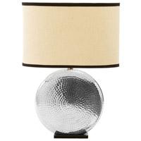 Stein World 99968 Naya 24 inch 100 watt Silver Table Lamp Portable Light
