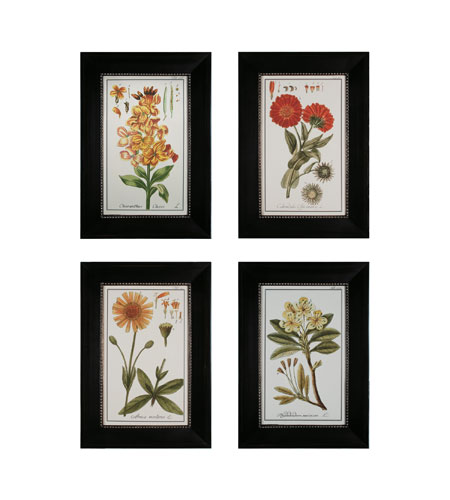 Sterling Industries Flowers Set of 4 Wall Art 10004-S4 photo