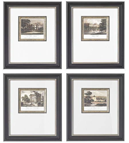 Sterling Industries Mini Estates Set of 4 Wall Art 10009-S4 photo