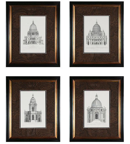 Sterling 10019-S4 Domes Wall Art photo