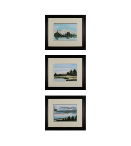Sterling Industries Plein Air Set of 3 Wall Art 10031-S3 photo