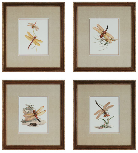 Sterling Industries Dragonflies Set of 4 Wall Art 10035-S4 photo