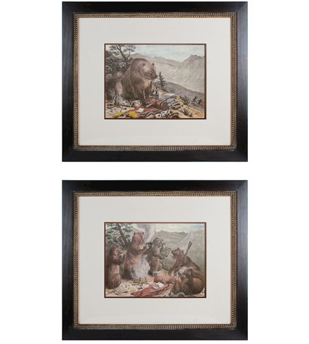 Sterling Industries Campout Set of 2 Wall Art 10045-S2 photo