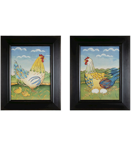 Sterling 10050-S2 Primitive Rooster Wall Art photo