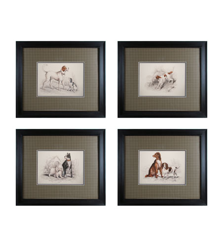 Sterling Industries Dog Duos Set of 4 Wall Art 10054-S4 photo
