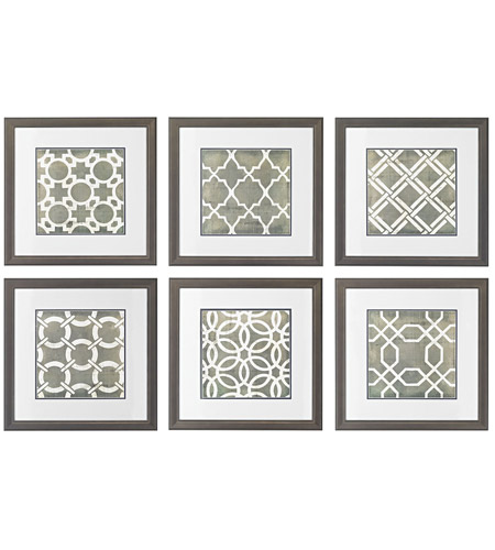 Sterling 10060-S6 Symmetry Blueprint Wall Art photo