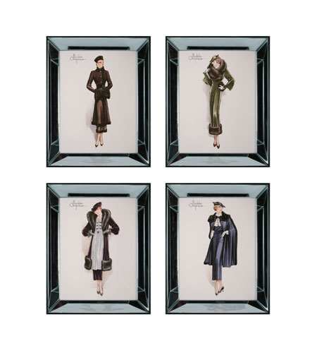 Sterling Industries Modeles Originaux Set of 4 Wall Art 10063-S4 photo