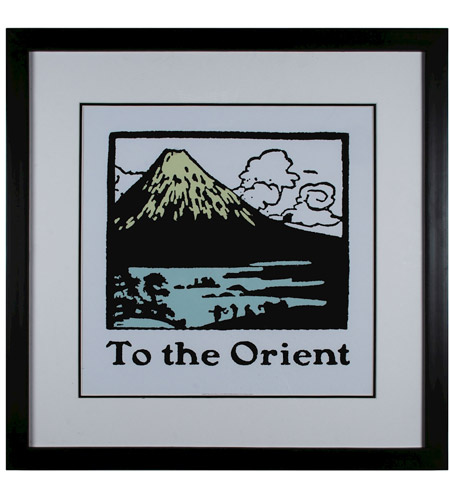 Sterling 10065-S1 Travel to the Orient Wall Art photo