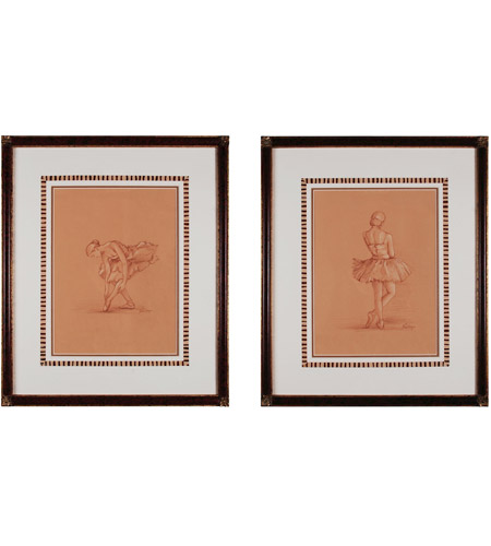 Sterling Industries Graceful Pose Set of 2 Wall Art 10067-S2 photo