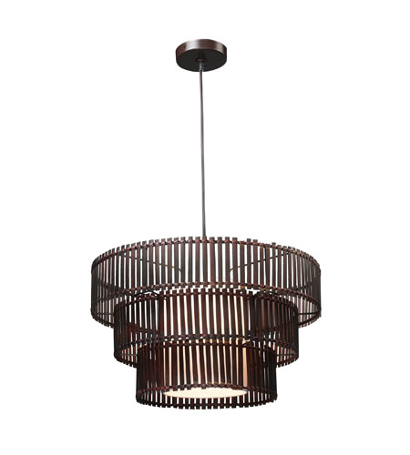 Sterling Industries Bamboo Ceiling Lamp Pendant 111-1107 photo