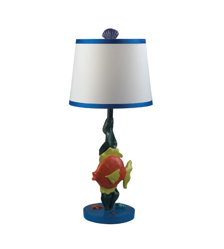 Sterling Industries Billy 1 Light Table Lamp in Gloss 112-1106 photo