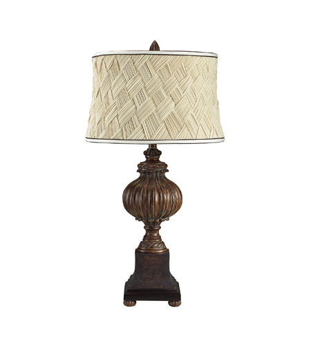 Sterling Industries Bates Avenue Table Lamp in Hazelhatch Bronze 113-1123 photo