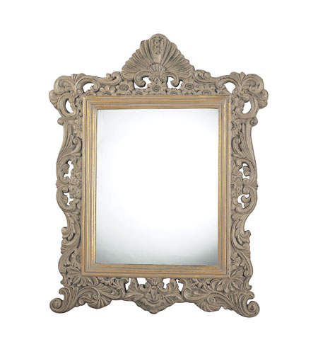 Sterling 115-02 Nantucket 34 X 27 inch Grenadine Grey Wall Mirror photo