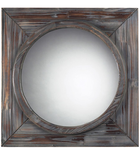 Sterling Industries Reclaimed Wood Finish Wall Mirror in Picardie Reclaimed Wood 116-002 photo