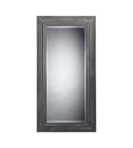 Sterling 116-003 Large Wall 71 X 36 inch Distressed Grey Wall Mirror photo