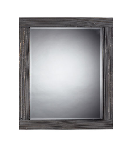 Sterling Industries Solid Wood Framed Mirror In Distressed Grey in Waterview Grey 116-010 photo