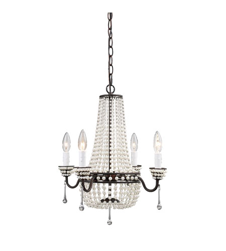 Sterling Industries Pearl Mini Pendant Mini Chandelier 122-001 photo