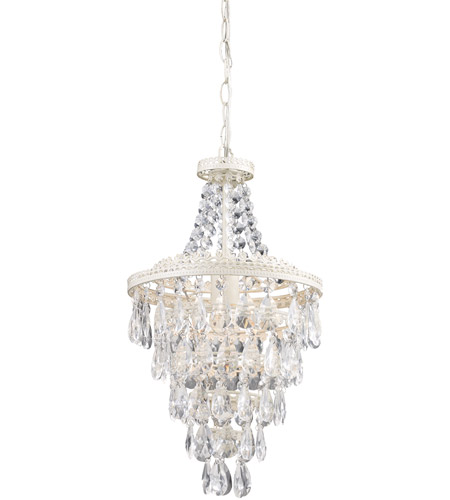Sterling 122-002 Crystal 1 Light 11 inch Pendant Ceiling Light photo
