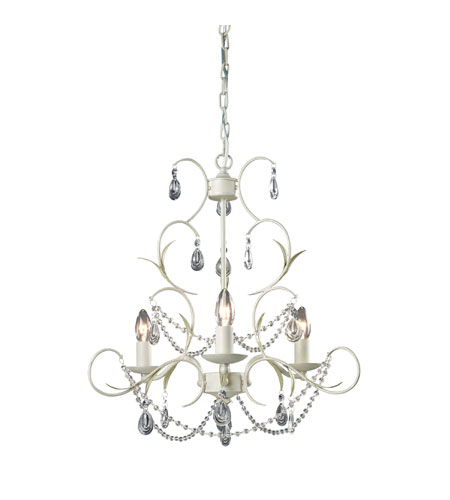 Sterling Industries Chandelier in Antique White 123-005 photo
