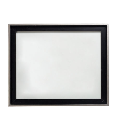 Sterling Industries Wood Frame In Black / Silver Decorative Accessory in Italian Black 125-024 photo