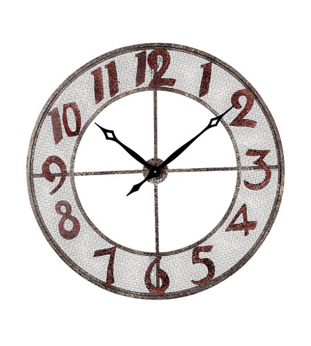 Sterling Industries Metal Outdoor Wall Clock in Rengo 128-1003 photo