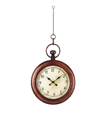 Sterling 128-1006 Antique Bela Vista Broze Clock photo