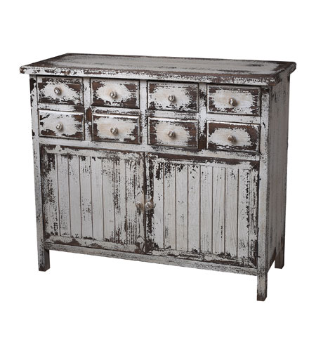 Sterling Industries Chest In Heavliy Distressed White Finish in Monta White 128-1023 photo