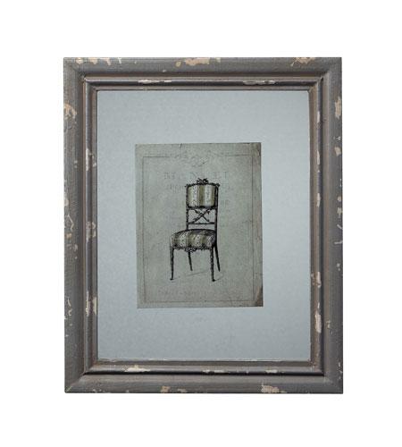 Sterling 128-1029 Frame Galloway Grey Decorative Accessory photo