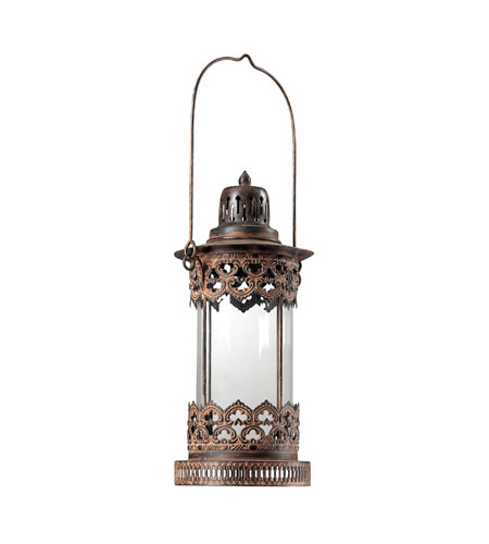 Sterling Industries Hurricane Lantern - Round Decorative Accessory in Neves 128-1033 photo