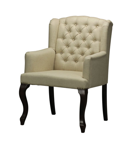 Sterling 133-007 Signature Mahogany and Cream Arm Chair photo