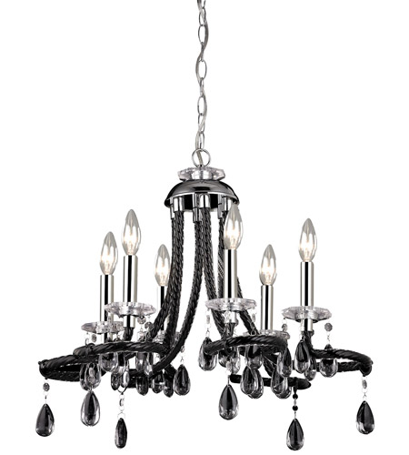 Black Acrylic Chandelier