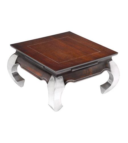 sterling 150-020 opium 24 x 24 inch dark walnut coffee table home