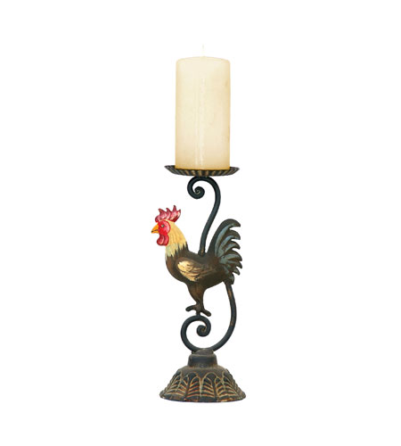 Sterling Industries Rooster Candleholder Decorative Accessory 26-0345 photo